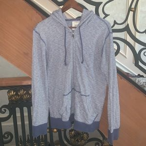 Men J Crew Zip Up Sweater size S